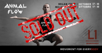 Workshop Animal Flow Level 1 - Milano  17-18 Ottobre 2020